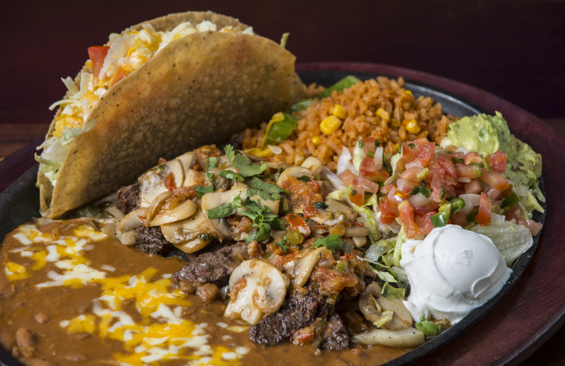 delicious mexican dish
