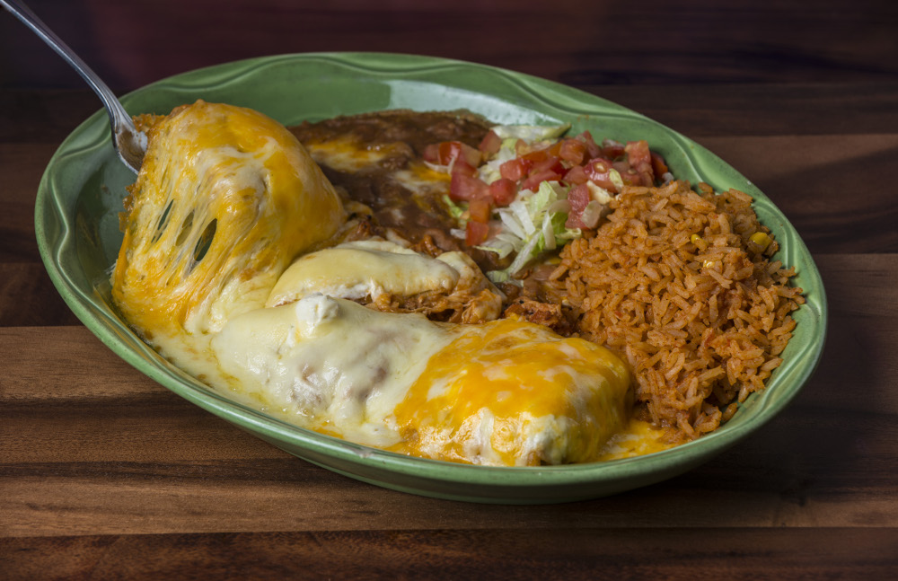 Golden Chicken Chimichanga